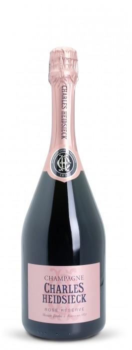 Champagne Brut Reserve Rosé im Geschenkkarton